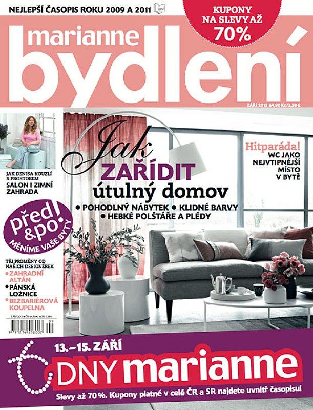 časopis Marianne Bydlení - předplatné  56bd12e3e3