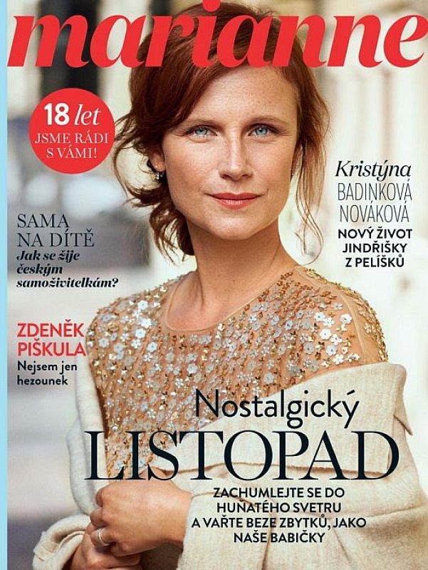 časopis Marianne - předplatné  52eb1c40ee
